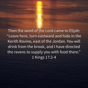 1 Kings 17:2-4