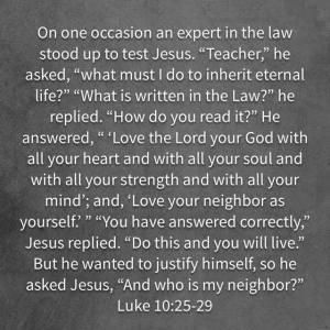 Luke10.25-29