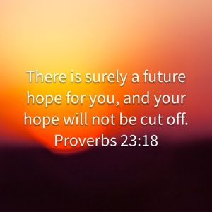 Proverbs 23:18