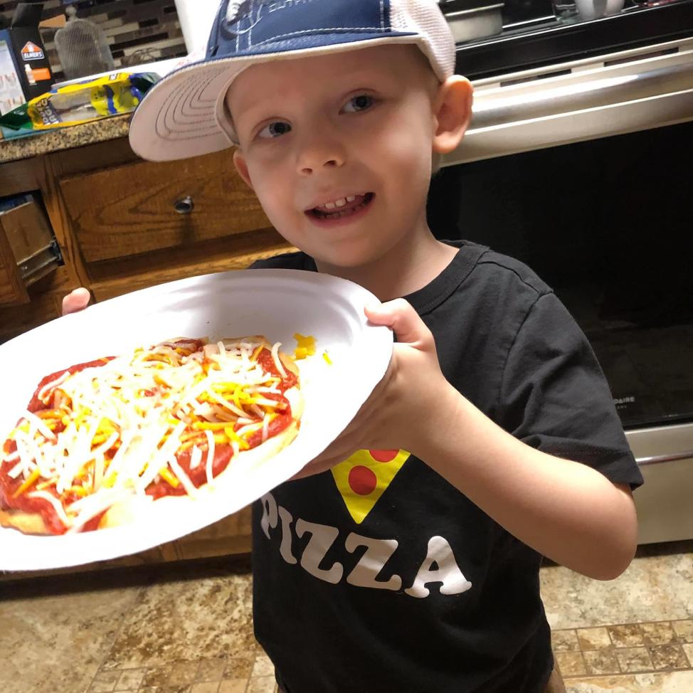 Allergy free homemade pizza